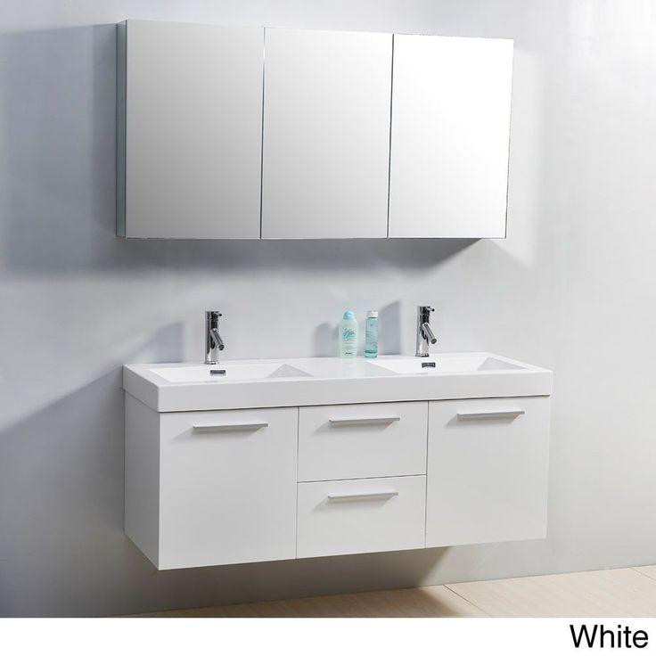 Virtu USA Midori 54-inch Double Sink Vanity Set