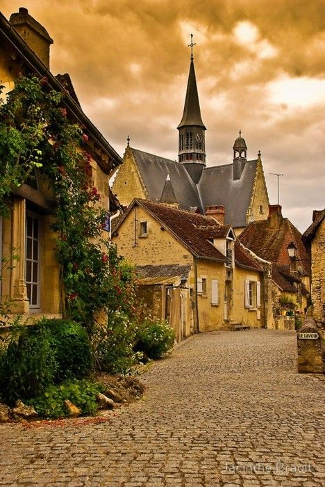 Medieval Village, Montrésor, France - I'm glad to see parts of this haven't changed - It's still a treasure.