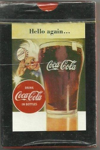 Coca Cola Playing Cards Hello Again with Sprite Boy