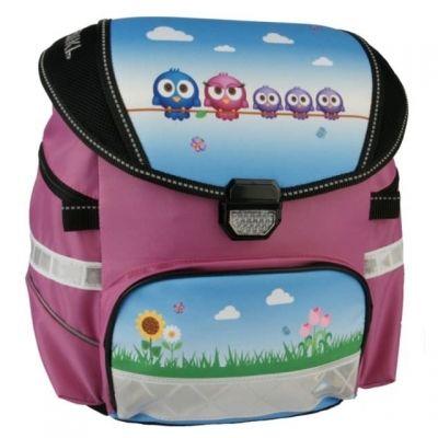Funki Chubby-Bag Funny Birds Schulsack rund