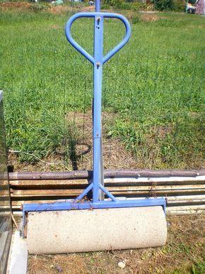 Comment fabriquer un rouleau pour le tracteur-tondeuse, pour le gazon ou la pelouse