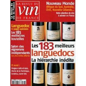 La Revue du vin de France - n°476 - 01/11/2003 - Les 183 meilleurs languedocs [magazine mis en vente par Presse-Mémoire]