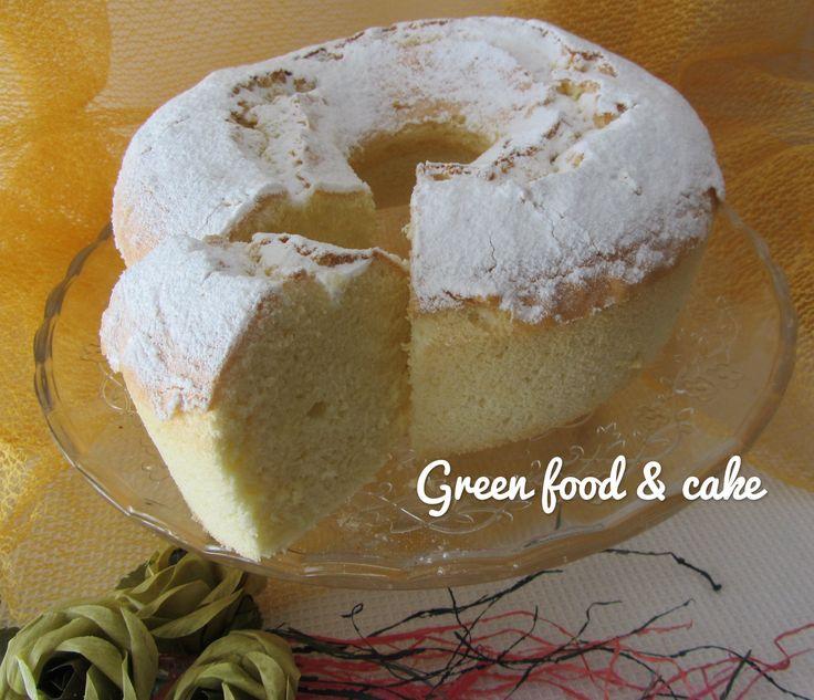 Chiffon cake o ciambella americana