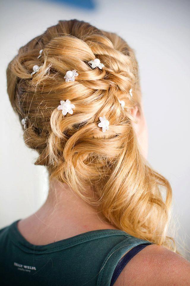 Coiffure de mari e chignon bas love the hair pinterest coiffures chignons et mariage - Chignon bas cote ...