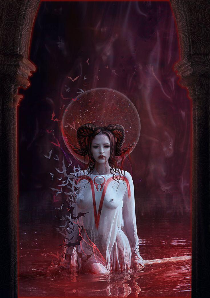 Blood Zodiac. Aries by Vasylina.deviantart.com on @deviantART