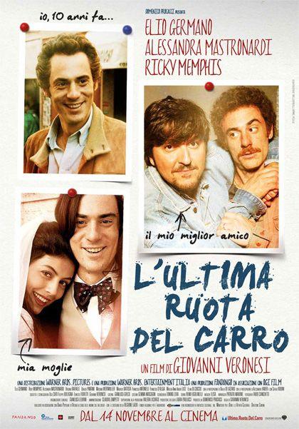 L'ultima ruota del carro (2013) directed by Giovanni Veronesi with Elio Germano, Alessandra Mastronardi, Ricky Memphis, Sergio Rubini, Alessandro Haber