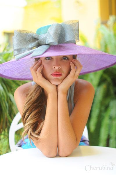 "Idea for bridal shower....""elegant tea"" or Kentucky derby Everyone wears big hats for a gorgeous day bridal shower"