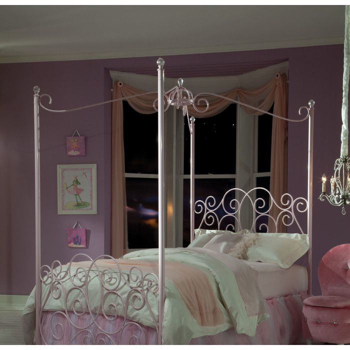Standard Furniture Princess Canopy Bed & Reviews | Wayfair