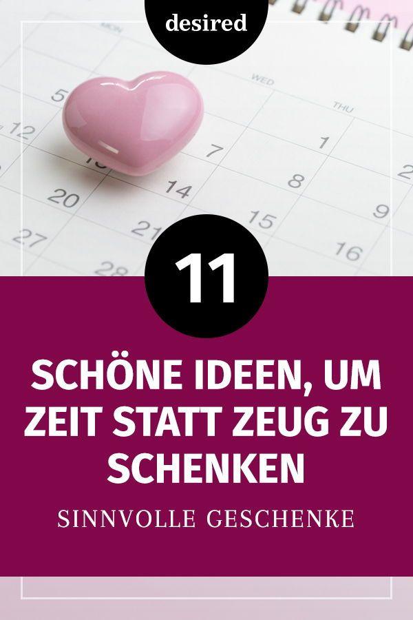 Zeit Schenken 11 Sinnvolle Ideen Die Sicher Gut Ankommen Zeit