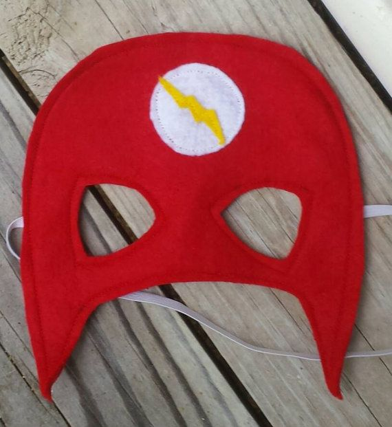 Hey, I found this really awesome Etsy listing at https://www.etsy.com/listing/187184962/the-flash-inspired-mask-pretend-play