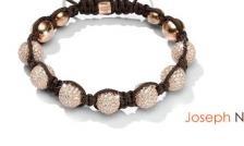 $16 for a Genuine Swarovski Elements Joseph Nogucci KikiBalla Crystal Ball Bracelet - Available in White, Grey OR Brown!