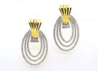 ADE112 - American Diamond Earings
