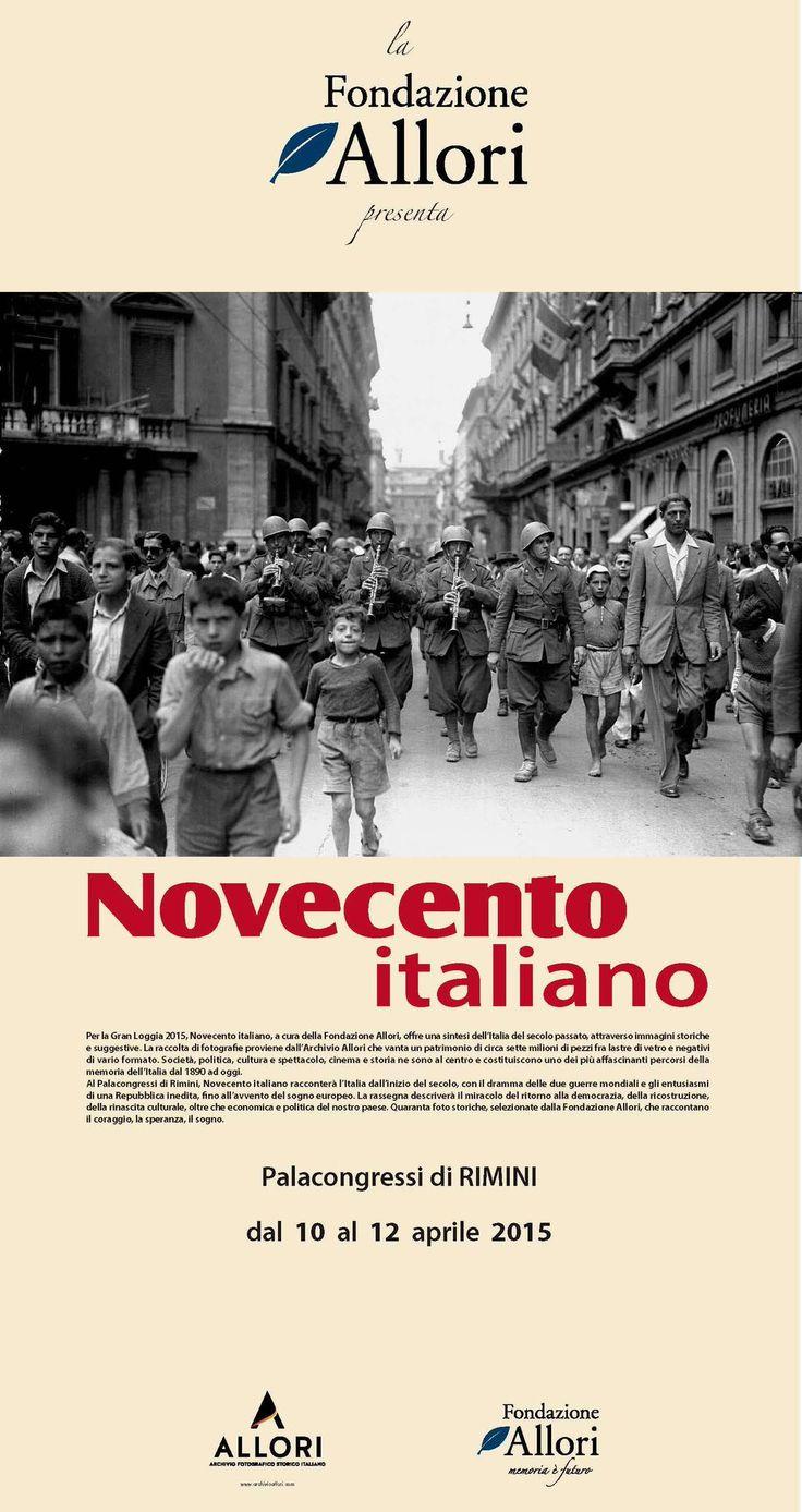 RT @GoiStampa #GLGOI15 #Rimini @palacongressiRN Mostra #Novecento italiano a cura @FondAllori #Italia