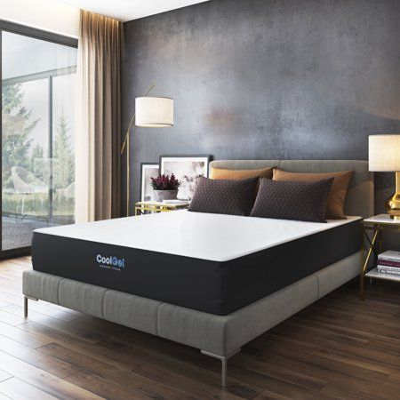 Modern Sleep Cool Gel Ventilated Gel Memory Foam 10 Inch Mattress Full Walmart Com Memory Foam Mattress Gel Memory Foam Gel Memory Foam Mattress