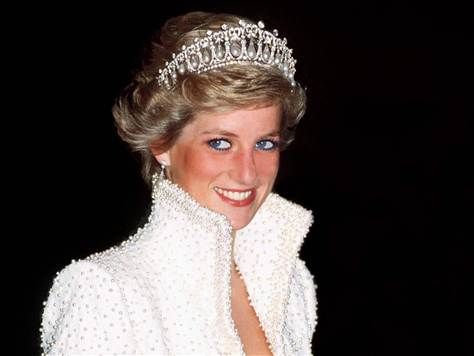 Image: FILE PHOTO: 15 Years Since The Death Of Princess Diana Princess Diana wearing Catherine Walker