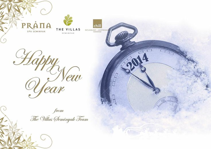 The Villas Seminyak wish all our friends a very Happy New Year.