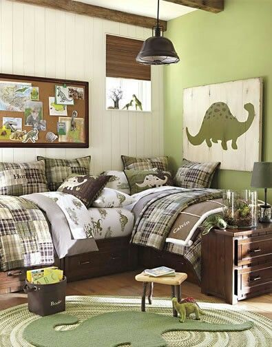 46 Best Images About Dinosaur Themed Kids Rooms On Pinterest