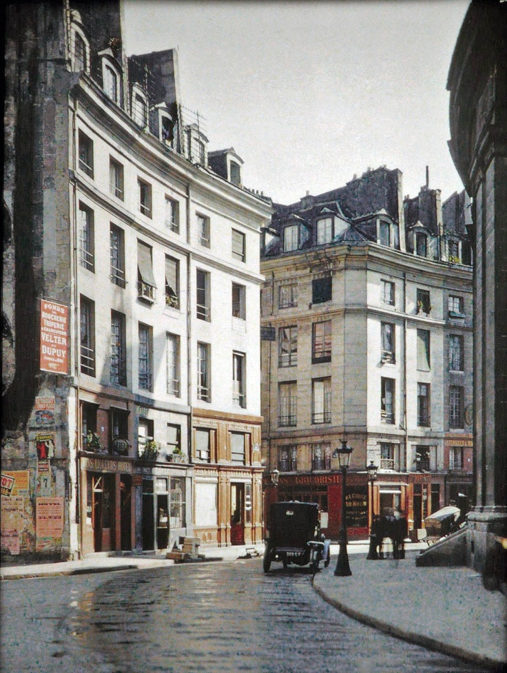 Rue Viarmes | PARIS 1914