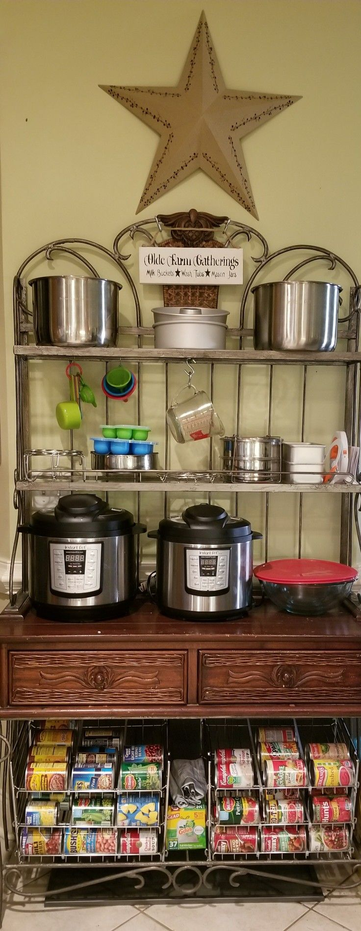Instant Pot Shelf Storage | Pot storage, Instant pot