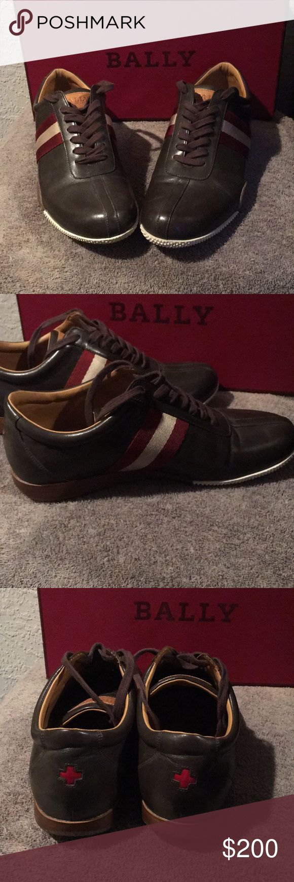 Bally men shoes Authentic Brown Bally loafers. In excellent condition. Bally Shoes Loafers & Slip-Ons