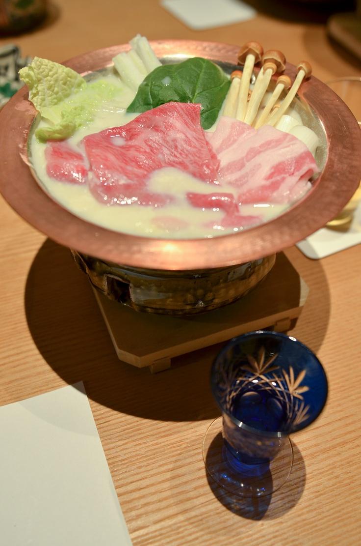 Dinner of Sansuikaku in Nasu Kogen , Tochigi  prefecture