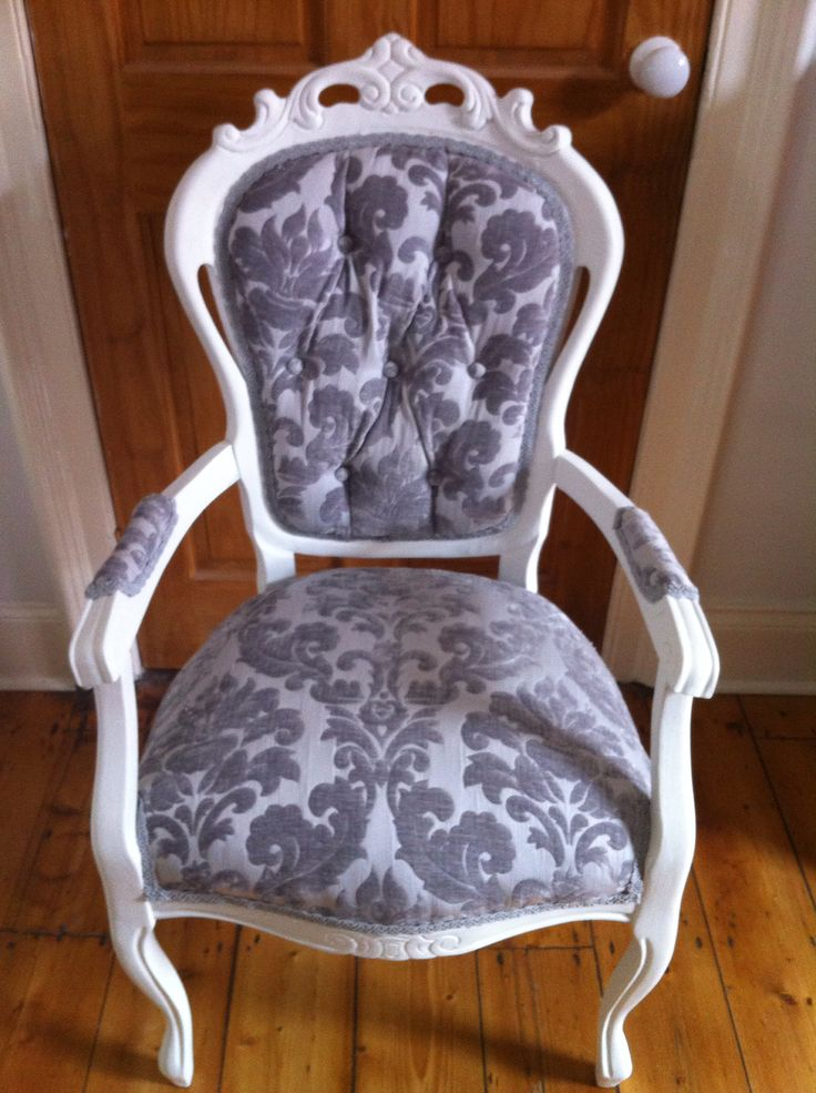 Re-upholstered Chair