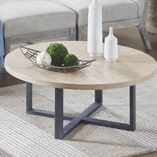 Union Rustic Neal Coffee Table Wayfair Coffee Table Wood Coffee Table White Oak Coffee Table