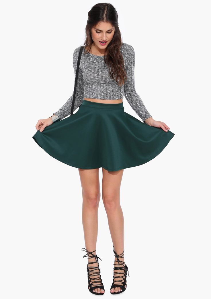 Best 25+ Cute skater skirts ideas that you will like on Pinterest | Skater skirt outfits Teen ...