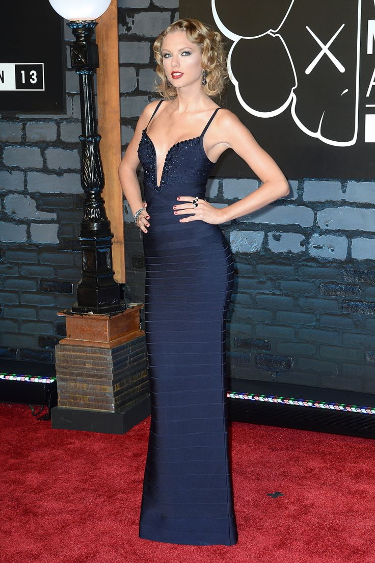 Taylor Swift in Herve Leger