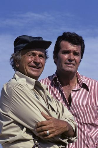 "James Garner, Noah Berry. ""The Rockford Files""."