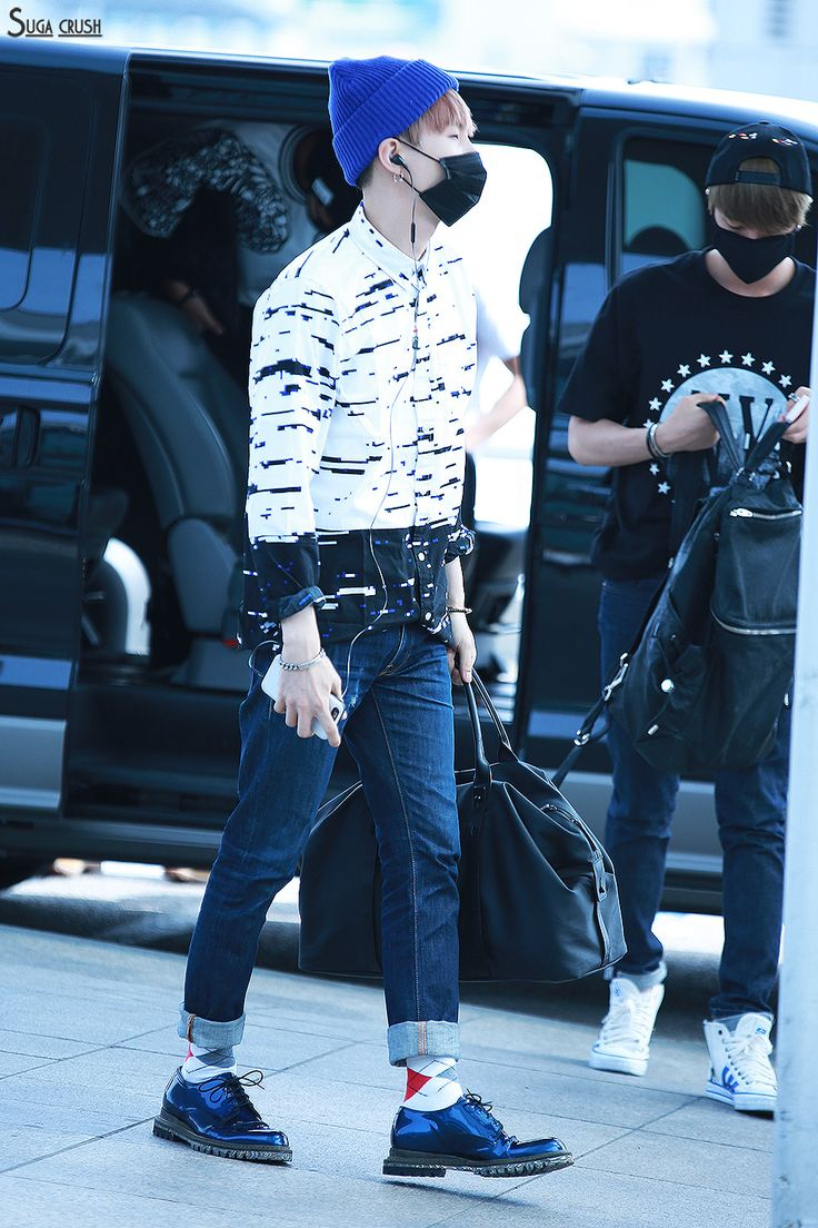Bts Airport Music Bank Pinterest Incheon