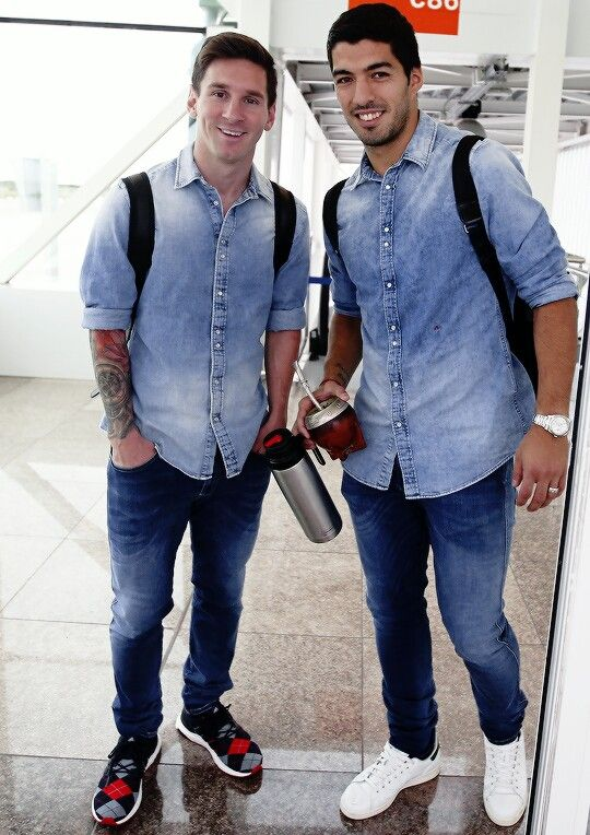 Messi and Suárez
