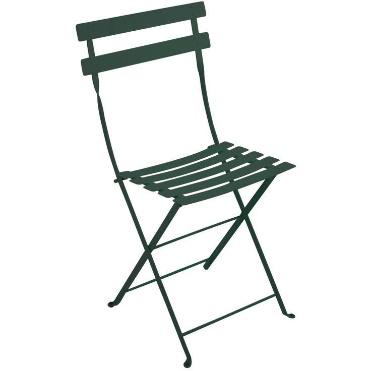 Bistro Metal stol, cedar green i gruppen Utemöbler / Utemöbler / Balkong hos RUM21.se (110101)