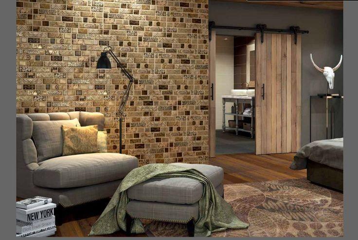 Dune tile, accent tile, accent wall, living room design, interior design