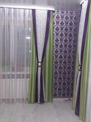 Необычные оттенки штор для гостиной. Смотрите больше фото, кликая на фото.