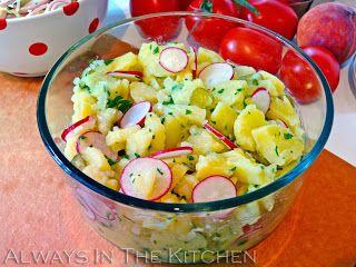 Always in the Kitchen: Rheinischer Kartoffelsalat (Rhineland-Style German Potato Salad)