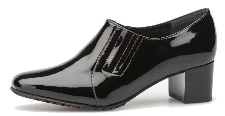 Palmroth shoe black patent