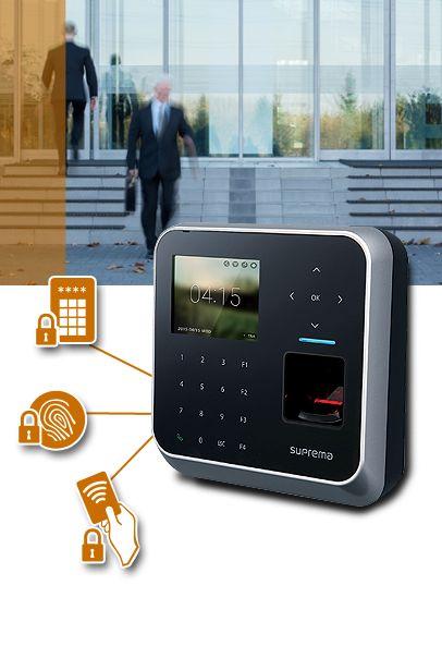 Fingerprint attendance system with access control.. http://www.totalitech.com/