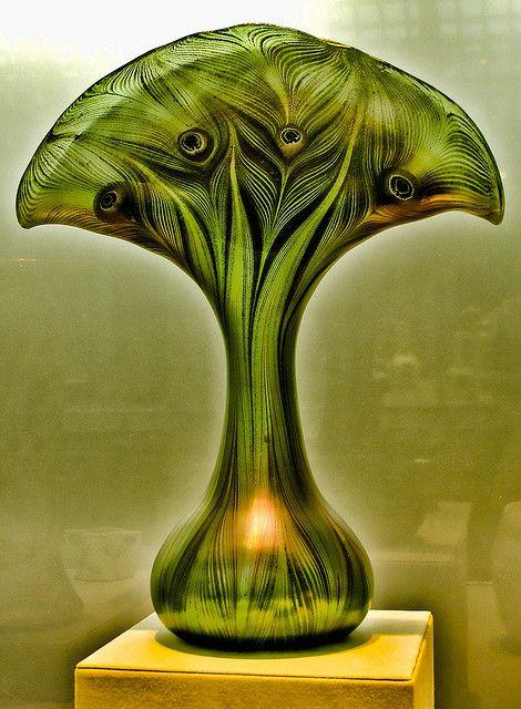 Tiffany Green Peacock