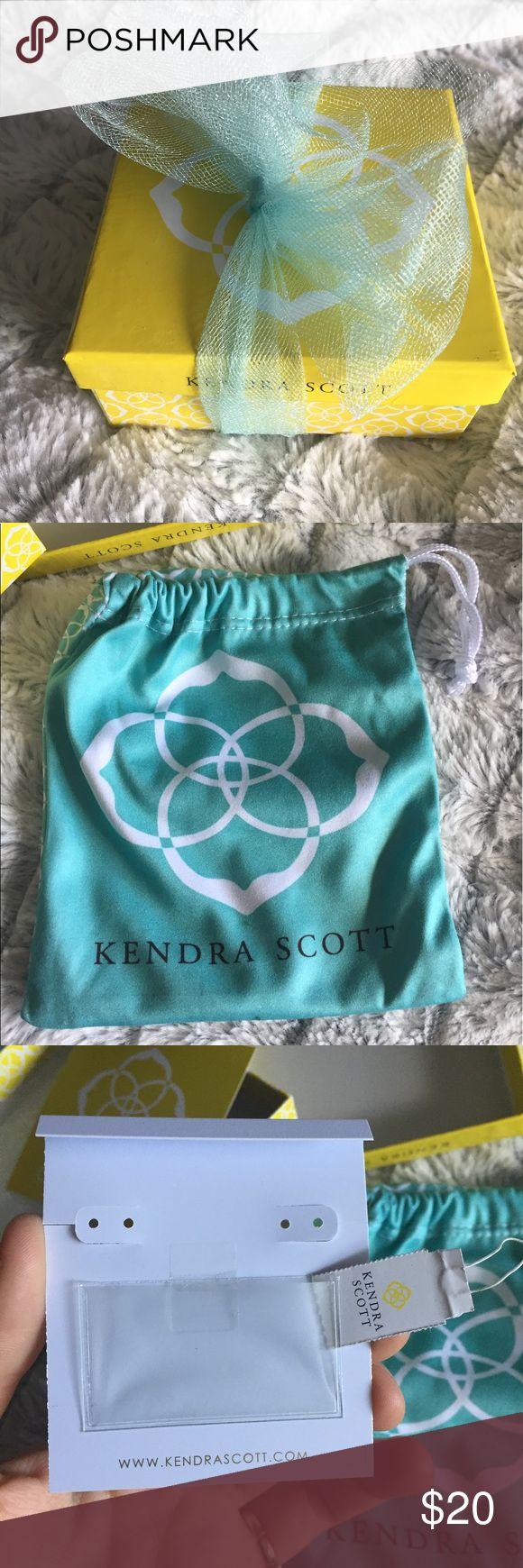 NWT Kendra Scott jewelry box package bag Comes with all that's pictured ! :) Kendra Scott Jewelry