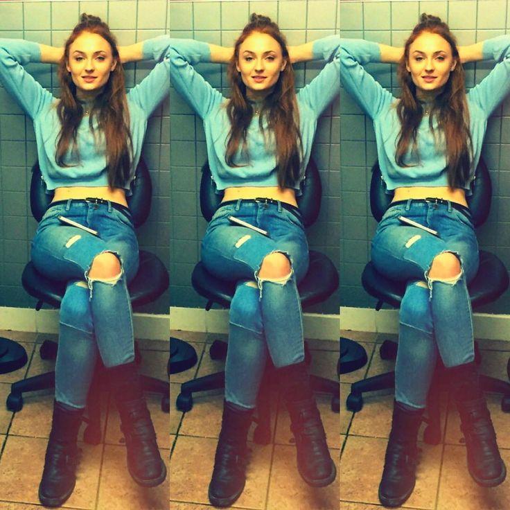 Sophie Turner instagram                                                                                                                                                     More