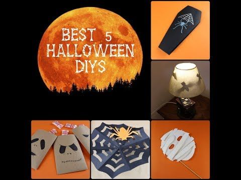 These are 5 of the simplest HALLOWEEN DIYs. If you like them SUBSCRIBE to our channel and stay tuned for extra. New music by: Adam Rafferty.