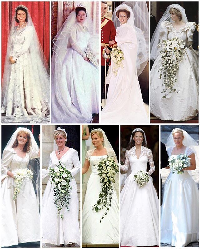 British Royal Brides & Facts. 1947 Princess Elizabeth