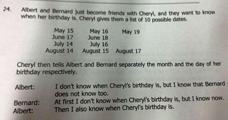 Enigma de matemática para alunos de 10 anos faz sucesso na internet