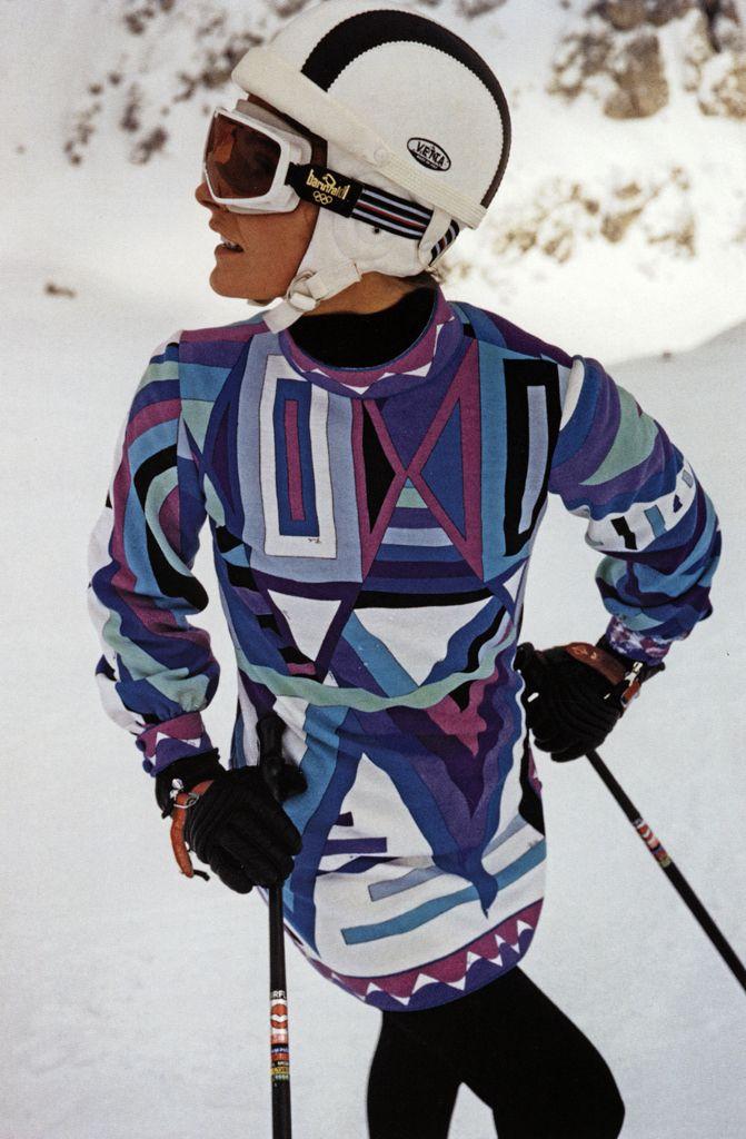 20th Century (Sixties): Prints on ski-wear