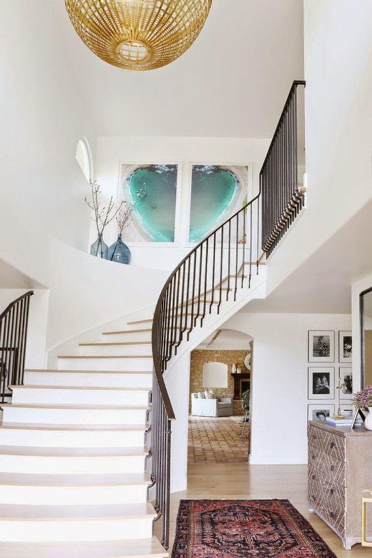 Decoracin Vintage y Eco Chic: [Get the look] Una renovacin que. Staircase  RailingsModern StaircaseStaircase IdeasStaircase ...