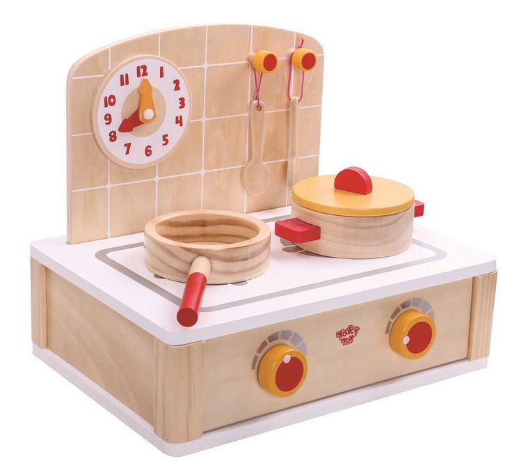 How cute is this little wooden kitchen set, distributed by Eleganter Australia!