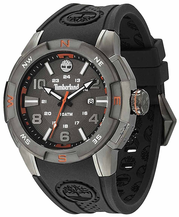 TIMBERLAND Atlamont Black Rubber Strap Μοντέλο: 13849JSU-61 Τιμή: 117€ http://www.oroloi.gr/product_info.php?products_id=31665