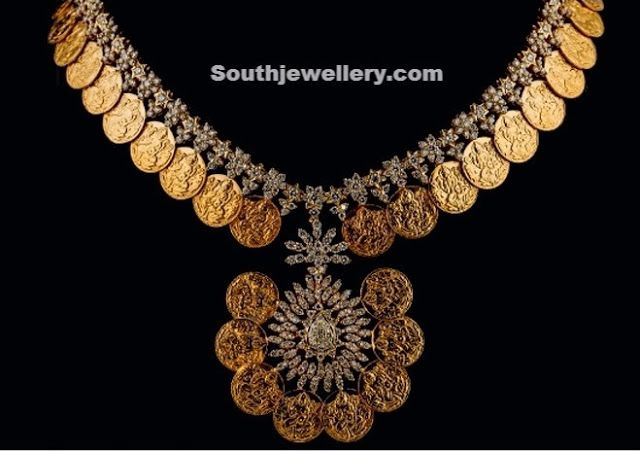 Kasu Necklace - Indian Jewellery Designs South Jewellery