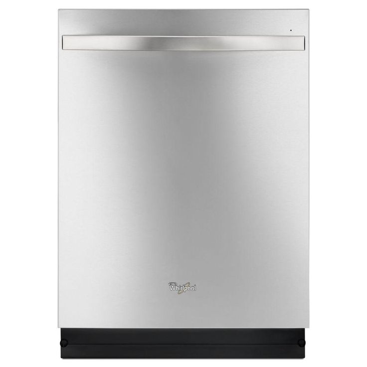 Whirlpool Top Control Dishwasher In Monochromatic Stainless Steel With  Stainless Steel Tub, Sensor Cycle,